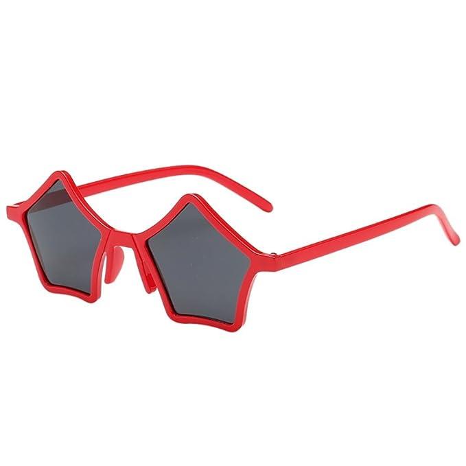 Amazon.com: Vertily - Gafas de sol unisex con forma de ...