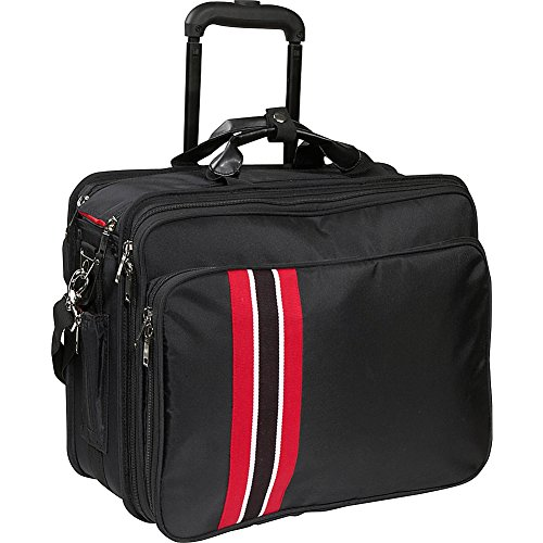 Women In Business Laptop Roller Case (Black/red Trim) by Women In Business