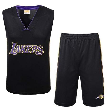 Camiseta Hombre Lakers Jersey Ropa de Baloncesto Deportes de ...