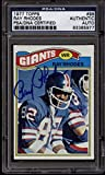 1977 Topps #98 Ray Rhodes PSA/DNA Auto Signed New York Giants ROOKIE RC