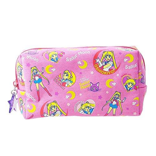 - Sailor Moon Denim Pen Case Pouch (Pink)