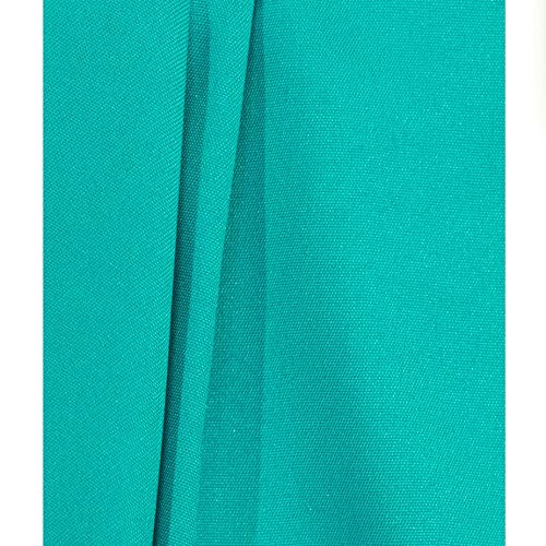 Teal Fabric Photography Backdrop - 10ft(w) x 10ft(h) - Wrinkle-Resistant, Studio Background]()