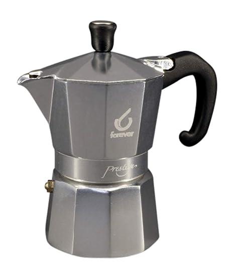 Cafetera Modelo Prestige de aluminio 2 tazas: Amazon.es: Hogar