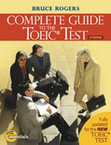 Read Online Complete Guide to TOEIC pdf