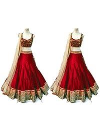 Lehenga Choli Designer Indian Ghaghra Dress Bollywood Replica Ethnic Party