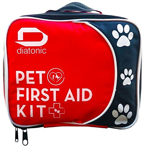 Pet First Aid Kit With Free Emergency Foldable Bowl   Travel And Camp For Pets And People  Universal First Aid   By Diatonic Designs