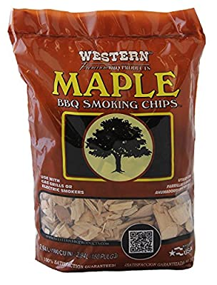 WESTERN 28067 Maple BBQ Smoking Chips (4)
