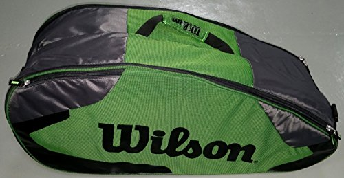 Wilson Tour Team II 6 Pack Green Tennistasche