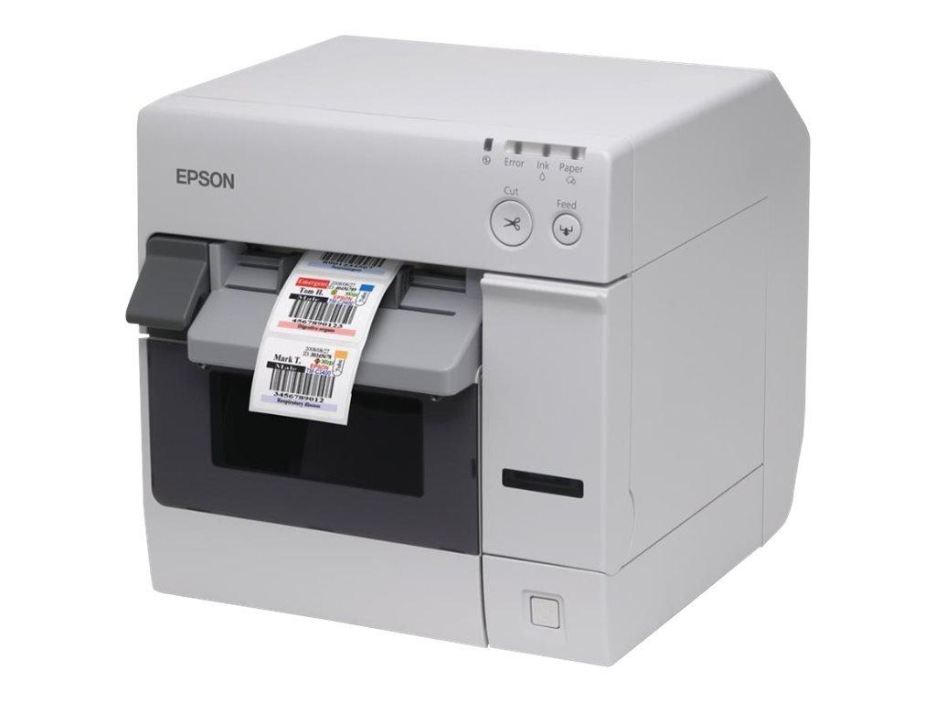Epson TM–POS-Terminal (NiceLabel CD, ECW, POS, Punktmatrix, 85–151, 30–108, verkabelt, USB 2.0) weiß C31CA26012CD