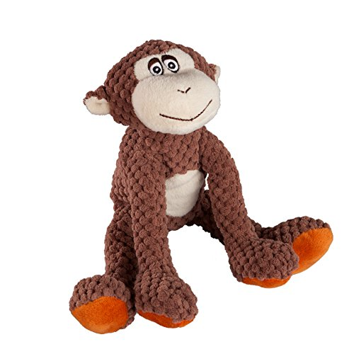 Image of fabdog Floppy Monkey Squeaky Dog Toy (Small)