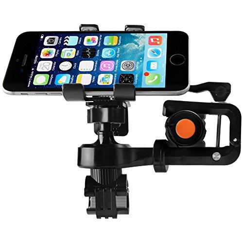 Bike Phone Mount, Airsspu Universal Cell Phone Bicycle Rack Handlebar