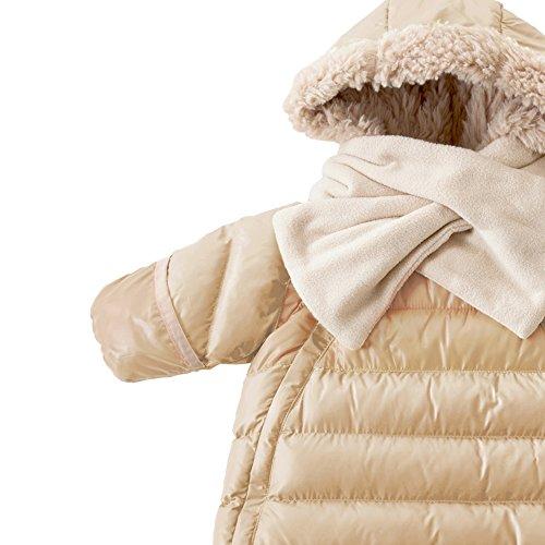 7AM Enfant Doudoune One Piece Infant Snowsuit Bunting, Beige, Large by 7AM Enfant (Image #1)