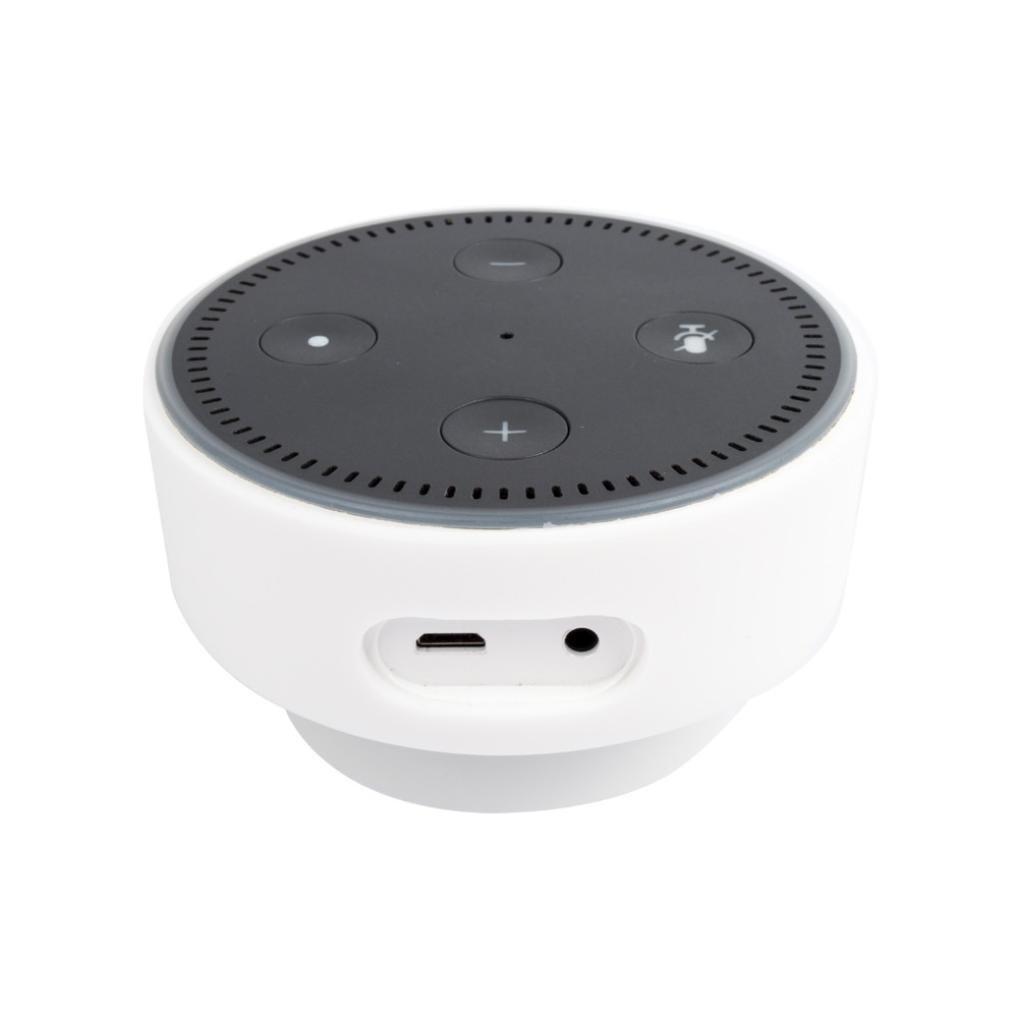 Happy Event Custodia protettiva in silicone per  Echo Dot bianco bianco für  Echo Dot 1314520_CJJ