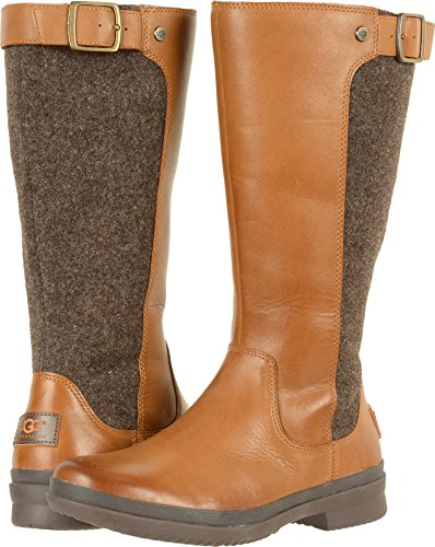 UGG Women's Janina Snow Boot, Chestnut, 8 M US by UGG