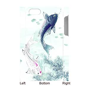 Fashion Case C-Y-F-CASE DIY Design Fish Pattern cell phone case cover For Iphone Nbkm9XCBSNz 5c