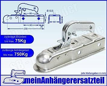 Al Ko Alko Zugkugelkupplung Ak 7 Ausf E Zugkupplung Ak7 E Vierkant 60mm 750 Kg 1224743 Auto