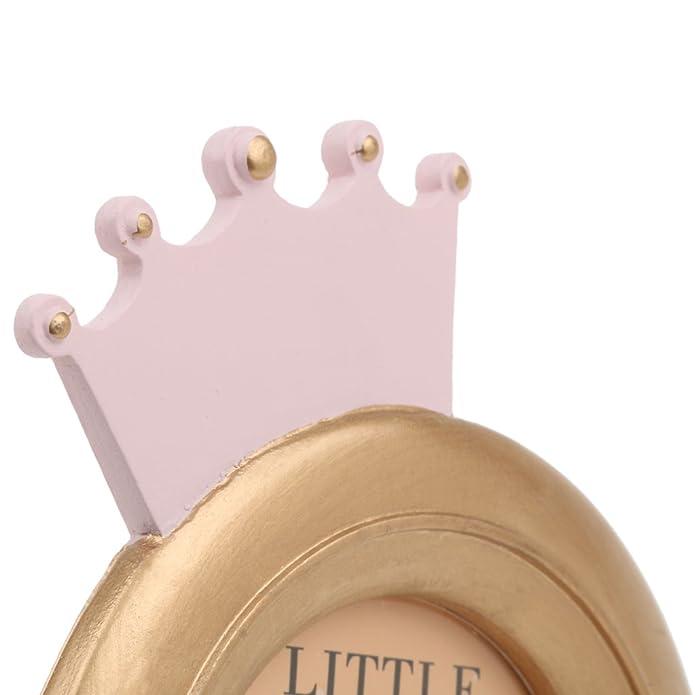 Dekorative Kronenform Baby Runden Bilderrahmen Geschenk Mit Nach ...