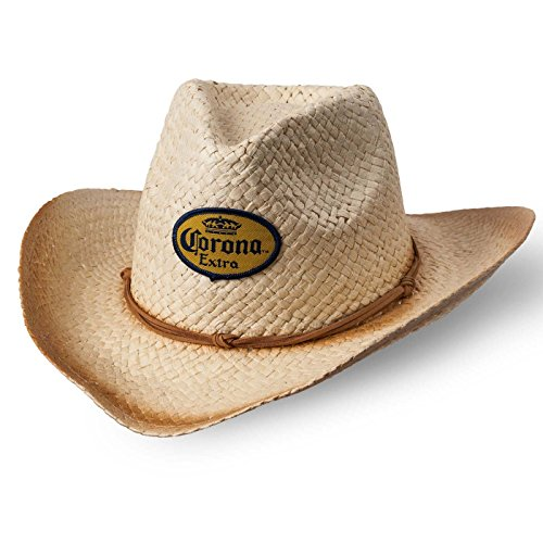 Corona Straw Cowboy Hat