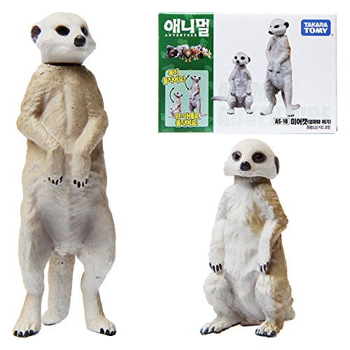 TAKARATOMY ANIA AS-18 ANIMAL Meerkat Mini Action Figure Educational Toy