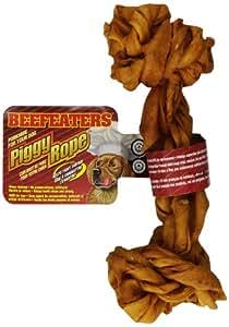 Amazon.com : Beefeaters Piggy Rope Bone, 7-Inch : Pet