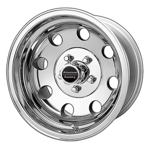 American Racing Baja AR172 Polished Wheel (15×8″/5×5.5″)