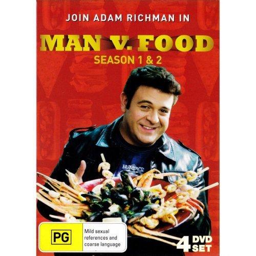 Man vs Food - Season 1 and 2 DVD