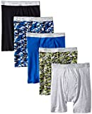 Fruit of the Loom Men's Print Solid X-Size Boxer