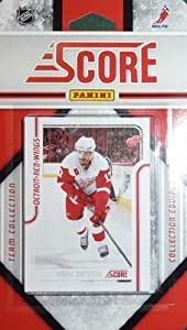 2011 / 2012 Score Detroit Red Wings Factory Sealed 15 Card Team Set Including Pavel Datsyuk, Henrik Zetterberg, Johan Franzen, Nicklas Lidstrom, Niklas Kronwall, Jimmy Howard, Jiri Hudler, Todd Bertuzzi and More!