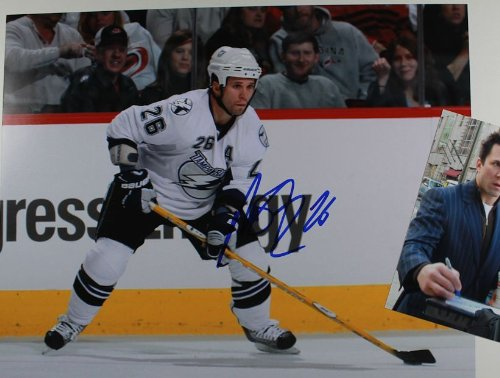 Martin St. Louis Autographed 11x14 Photo w/ Proof Photo - Tampa Bay - Tampa Mall