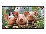Funny Funny Little Pig Rectangle Non-Slip Rubber Mousepad Mouse Pads/Mouse Mats Case Cover