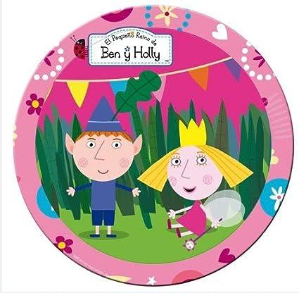 Amazon.com: Ben y Holly – platos de fiesta (tamaño pequeño ...