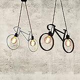 Injuicy Modern Bicycle Metal Iron Pendant Lights