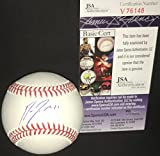 Jose Ramirez Cleveland Indians Autographed Signed Official Major League Baseball JSA COA