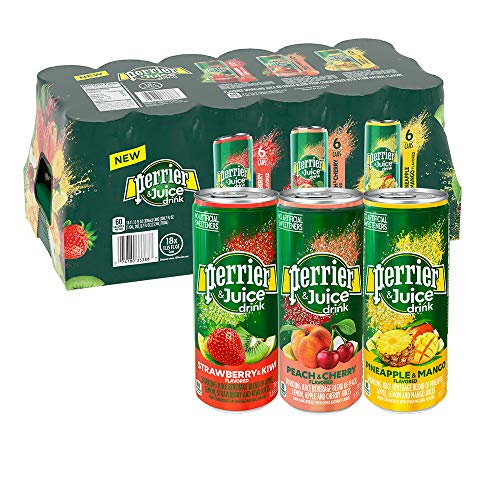 Perrier Flavored Sparkling Juice Beverage (18 Pack/ 11.15 Floz) Net Wt 200.7 Fl Oz, 200.7 fl. oz.