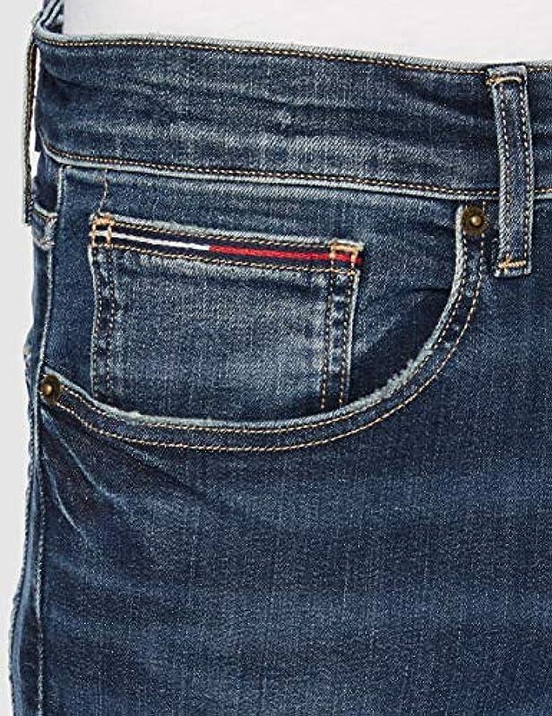 Tommy Jeans Męskie Austin Slim Dndbst Hose: Odzież