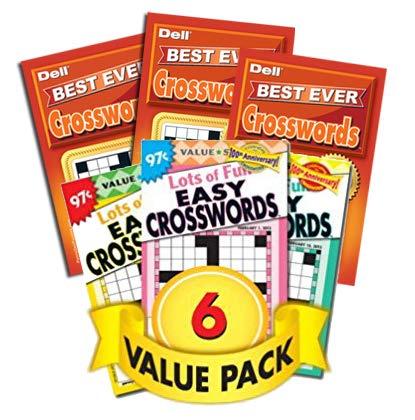 (Favorite Crossword Puzzles - 6 Pack)