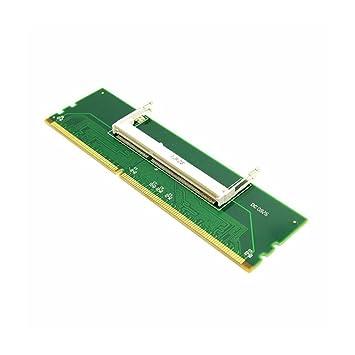 Huimai DDR3 Ordenador Portátil SO-DIMM a PC de Escritorio DIMM Adaptador de Memoria RAM