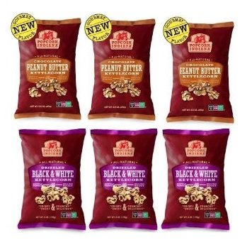 Popcorn Indiana Popcorn Drzld Choc Blk&Wh 6 Oz