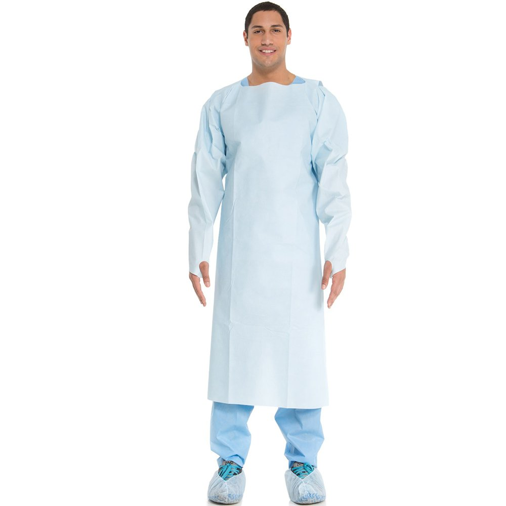 (Formally Kimberly Clark) Medical Hospital Quality Medical Gown Impervious Comfort Blue Universal