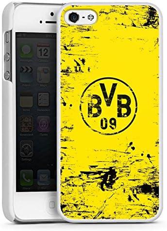 DeinDesign H/ülle kompatibel mit Apple iPhone 5 Handyh/ülle Case Borussia Dortmund Offizielles Lizenzprodukt BVB