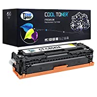 Cool Toner CHCB542A-Y125A Compatible Toner Cartridge Replacement for HP CB542A 125A (Yellow)