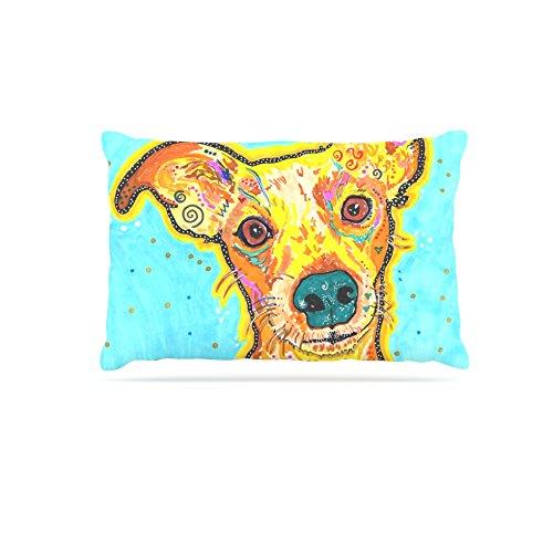 Kess InHouse Rebecca Fischer Tanner  Fleece Dog Bed, 50 by 60 , Terrier