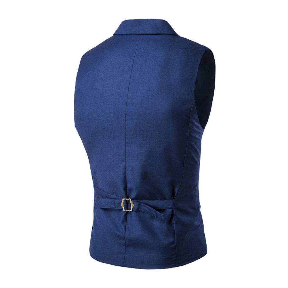 bluee C2S Men's Vest Formal Formal Formal Double-Breasted
