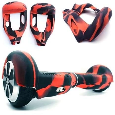 Carcasa de silicona para patinete eléctrico inteligente de equilibrio de 2 ruedas de 16.5 cm (6.5 pulgadas) Hover board