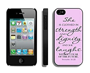 Element Case For Samsung Note 2 Cover Durable Soft Silicone PC Bible Quote God Black Cell Phone for Samsung Note 2