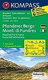 Pfunderer Berge/Monti di Fundres, Eisacktal/Val d'Isarco, Pustertal/Val Pusteria: Wanderkarte mit Aktiv Guide, Radrouten und Skitouren. GPS-genau. 1:25000, dt. /ital. (KOMPASS-Wanderkarten, Band 81)
