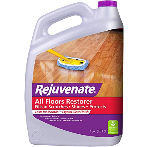 - Rejuvenate All Floors Restorer and Polish Fills in Scratches Protects Restores Shine No Sanding Required