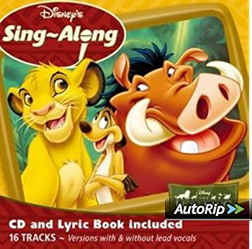 Disney S Sing A Long The Lion King Amazon Co Uk Music