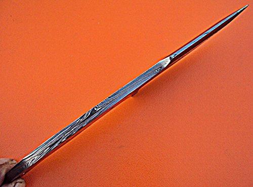 Poshland BB-259, Handmade Damascus Steel 7.4 Inches Full Tang Skiner Knife - Best Quality Blank Blade