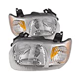 Best Headlight For Replacements - Ford Escape Headlights Headlamps OE Style Replacement Driver/Passenger Review